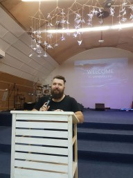 Oleksiy Menzatov Visited Kingdom of God Church 3