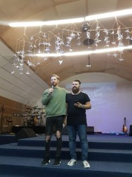 Oleksiy Menzatov Visited Kingdom of God Church 4