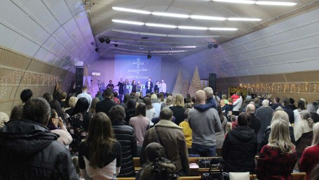 Christmas Celebration in Church 2